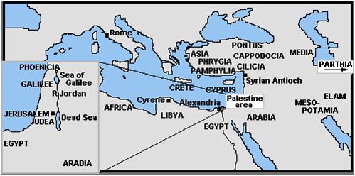 Map -Acts 2