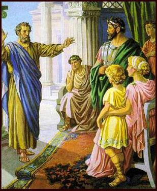Peter at Cornelius hhold