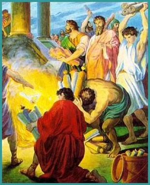Ephesians Burn Books