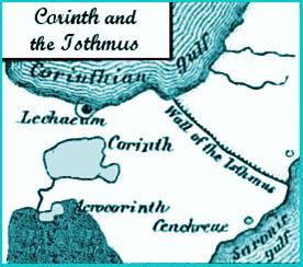 Map Corinth