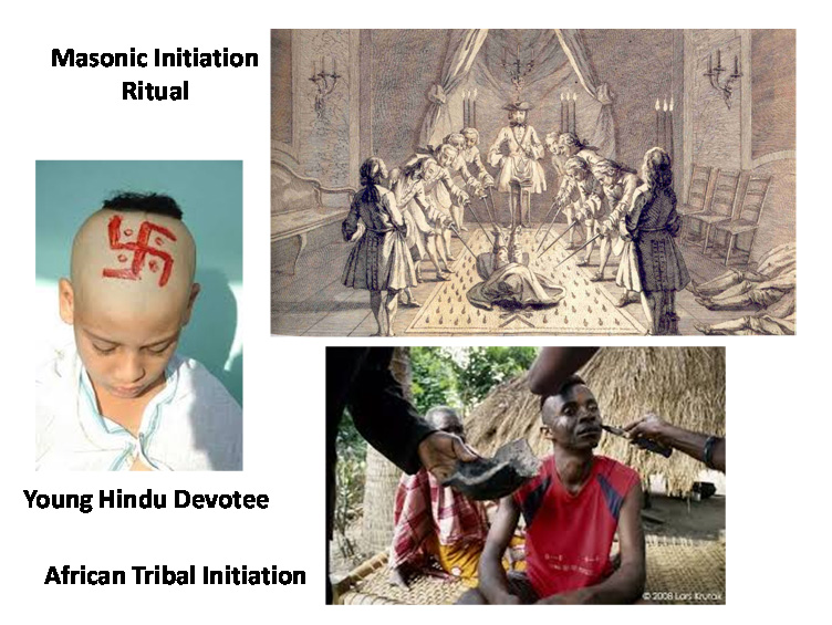 Initiation rituals, marks copy