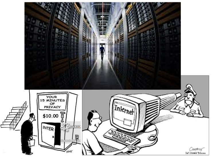 Surveillance - modern copy